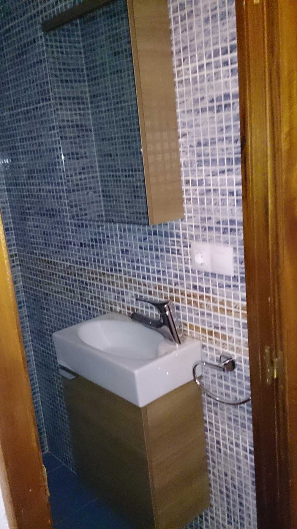 reformas baño fontanería Castellón pinturneox